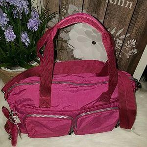 Kipling Bags - Kipling Cyrene flamingo pink bag
